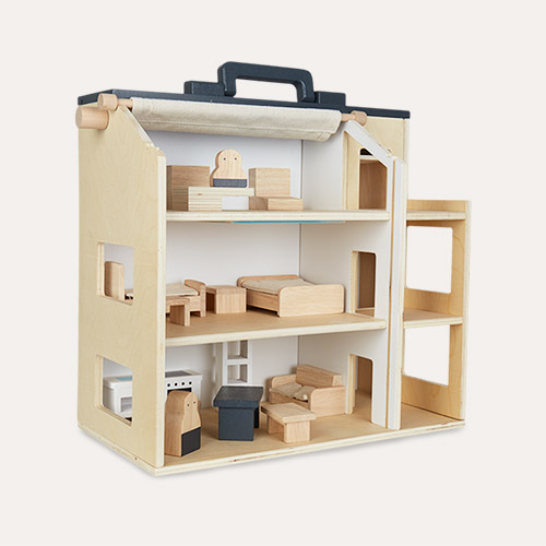 Multi Kid's Concept Studio House With Furniture Set