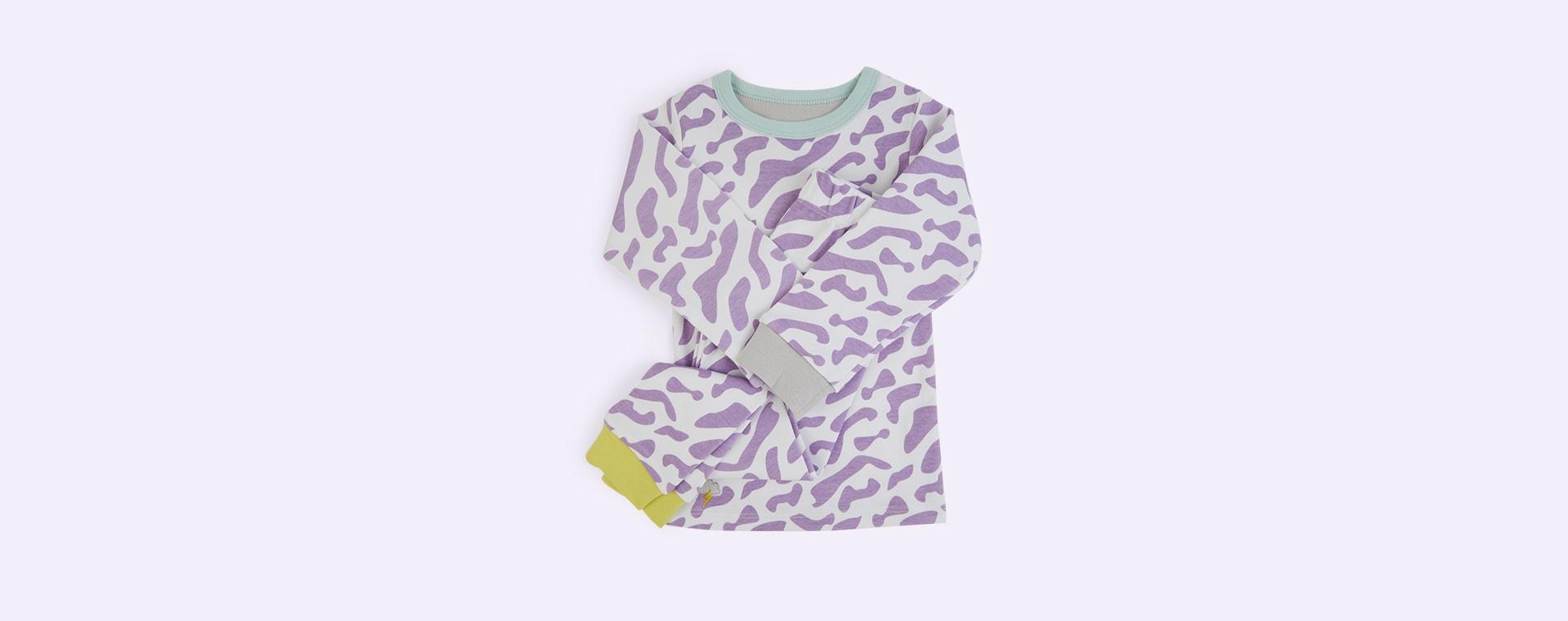 Purple Wave Bernie and The Beanpole Pyjamas