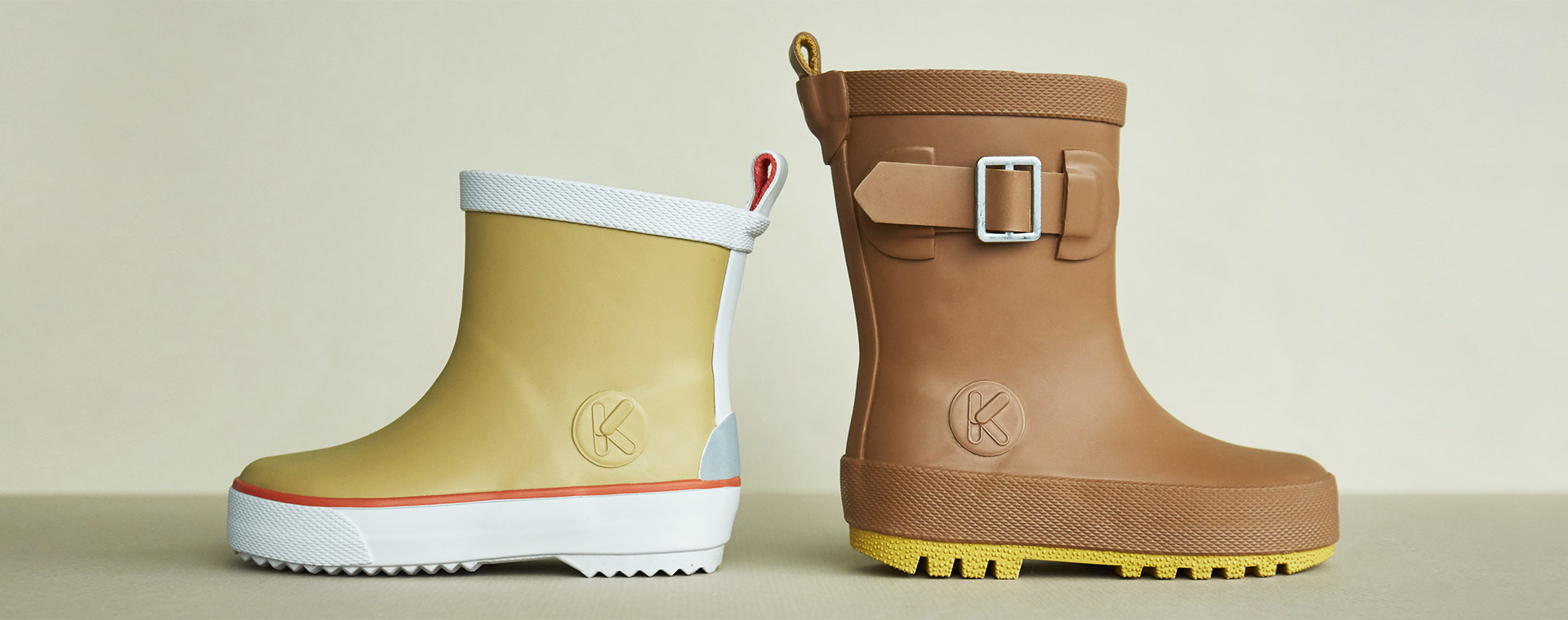 Camel KIDLY Label Ankle Rain Boot
