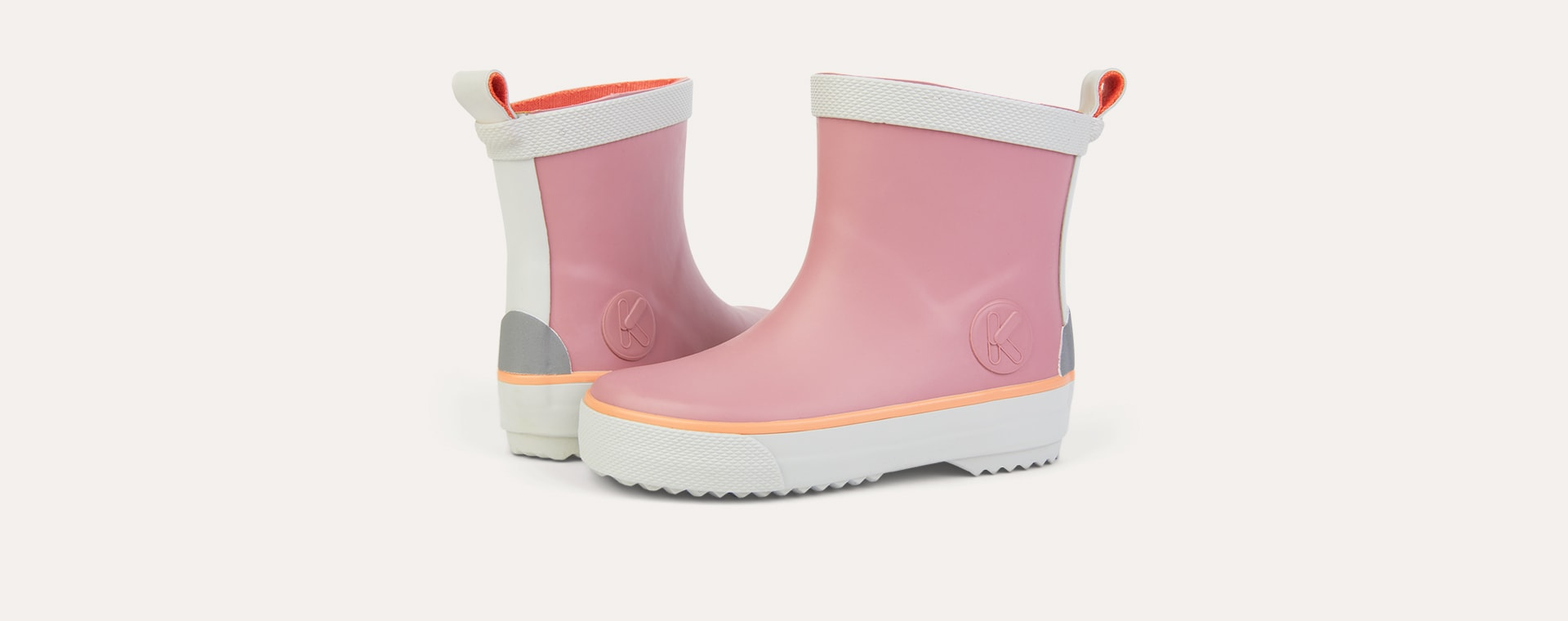 Rose KIDLY Label Short Rain Boot