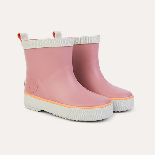 Rose KIDLY Label Short Rain Boot