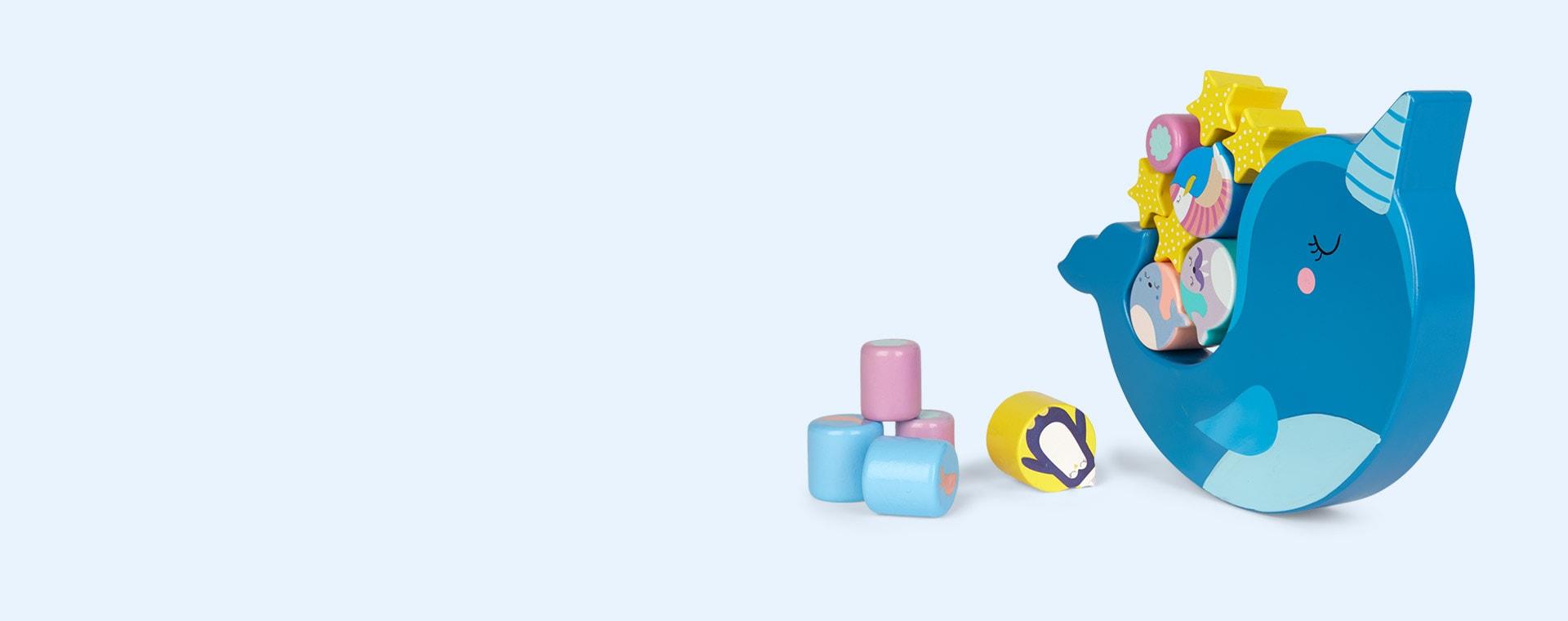 Blue Sunnylife Balance Stacking Game