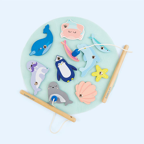 Multi Sunnylife Fishing Toy