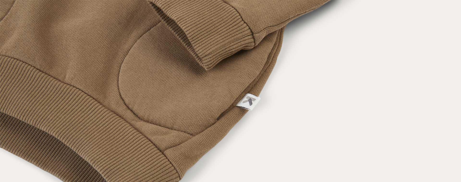 Camel KIDLY Label Pocket Sweatshirt