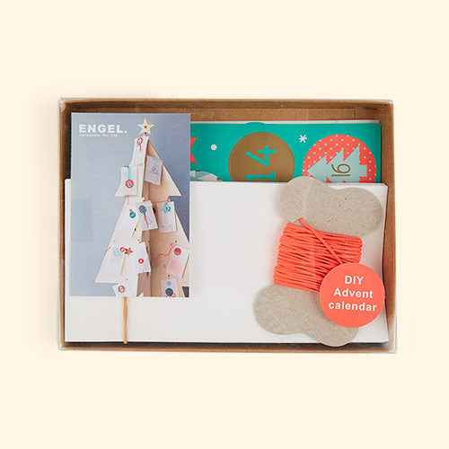 Multi Engel Advent Calender DIY