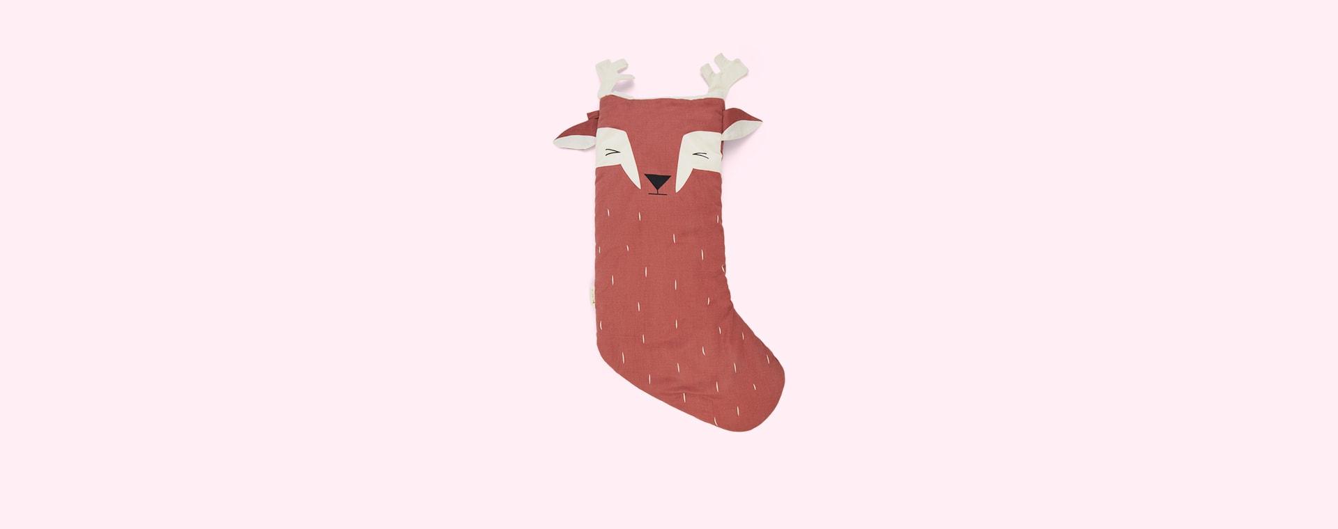 Lovely Deer Fabelab Christmas Animal Stocking Lovely Deer