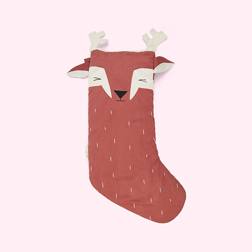 Lovely Deer Fabelab Christmas Animal Stocking Lovely Deer