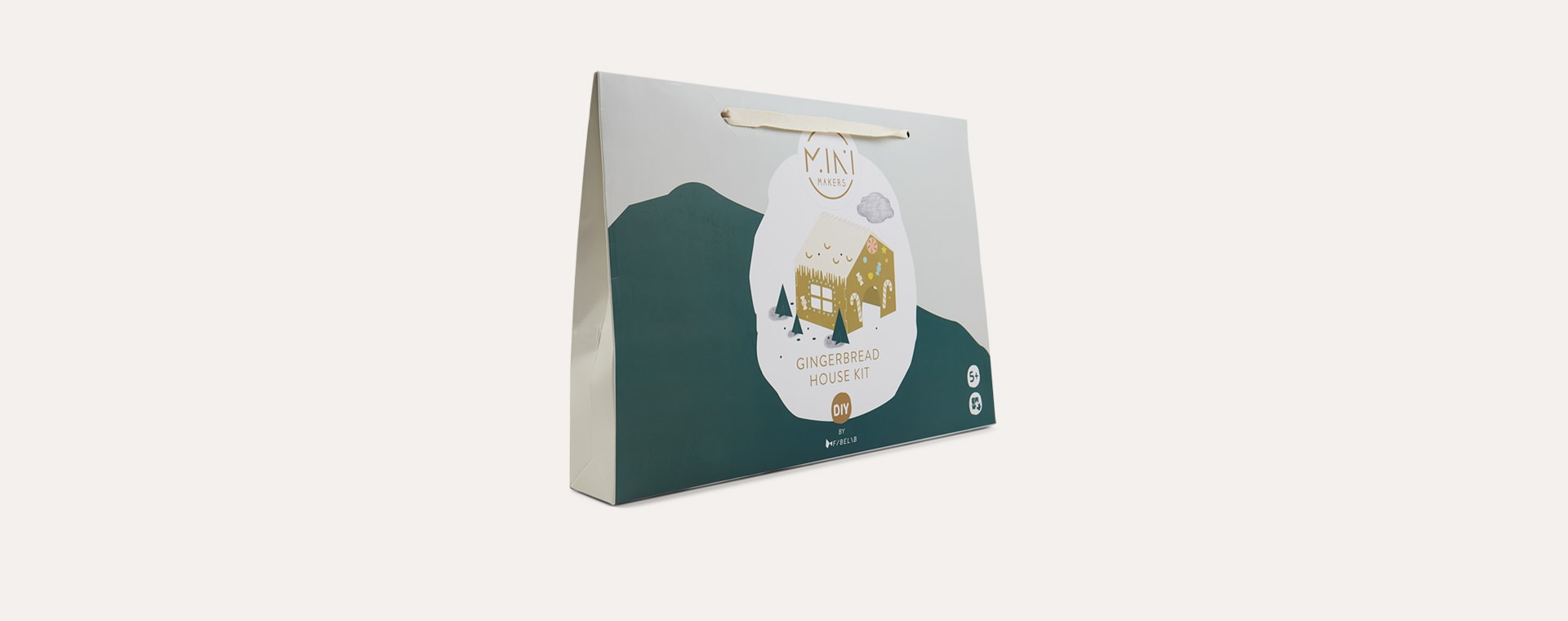 Multi Fabelab DIY Gingerbread House Kit