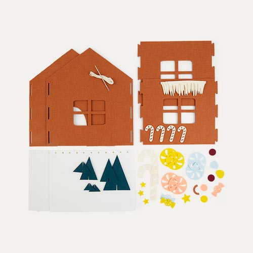 Multi Fabelab DIY Gingerbread House Kit