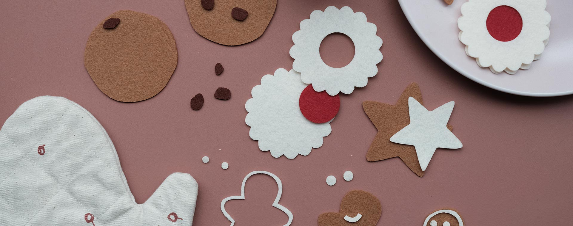 Multi Fabelab DIY Felt Cookies