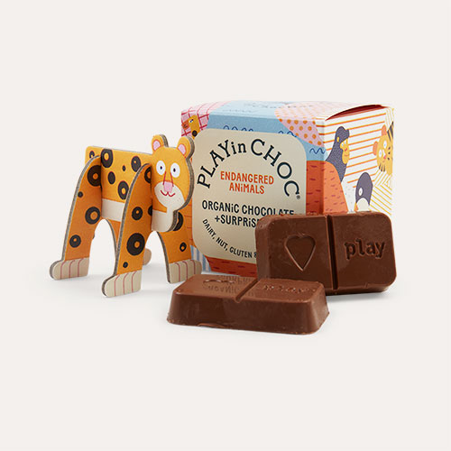 Endangered Animals Play In Choc Toychoc Box