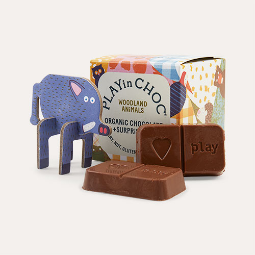 Woodland Animals Play In Choc Toychoc Box