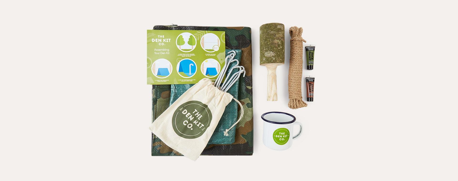 Olive Green The Den Kit The Original Den Kit