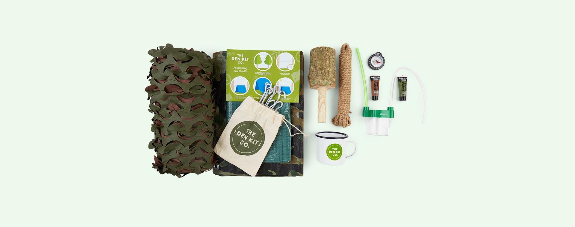 Dark Green The Den Kit The Forest School Den Kit