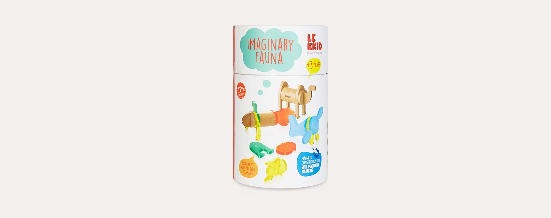 Multi LEKKID Imaginary Fauna Cylinder - 22 Pieces