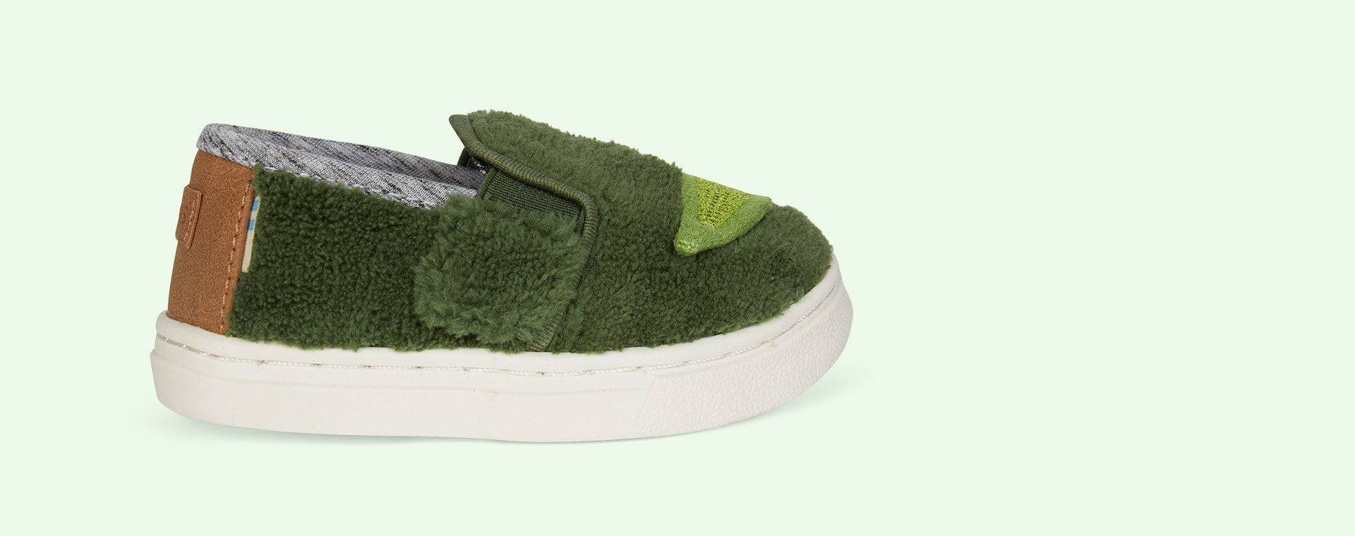 Green TOMS Yoda Luca Slip-On Shoe