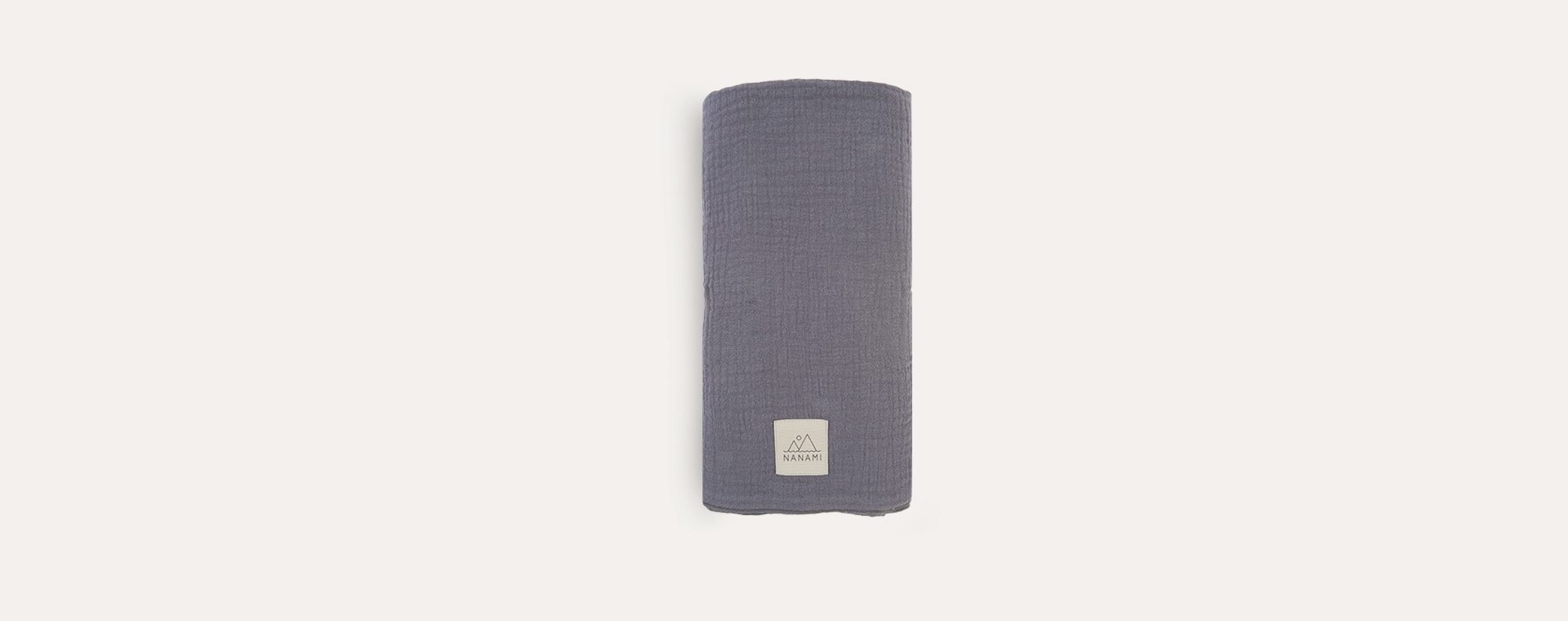 Grey Nanami Swaddle Blanket