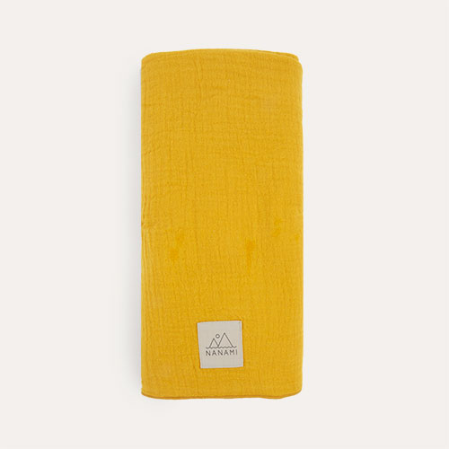 Yellow Nanami Swaddle Blanket
