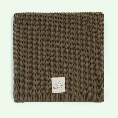 Army Nanami Knitted Blanket