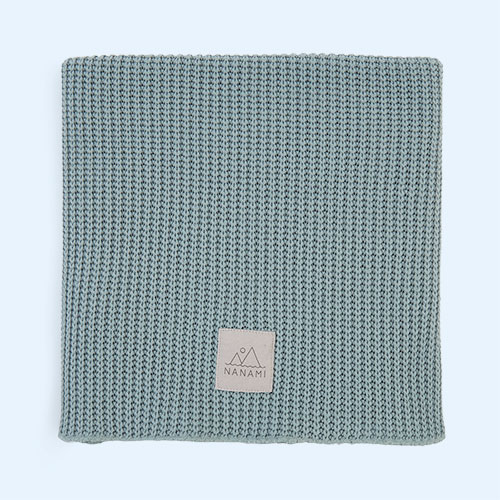 Mint Nanami Knitted Blanket