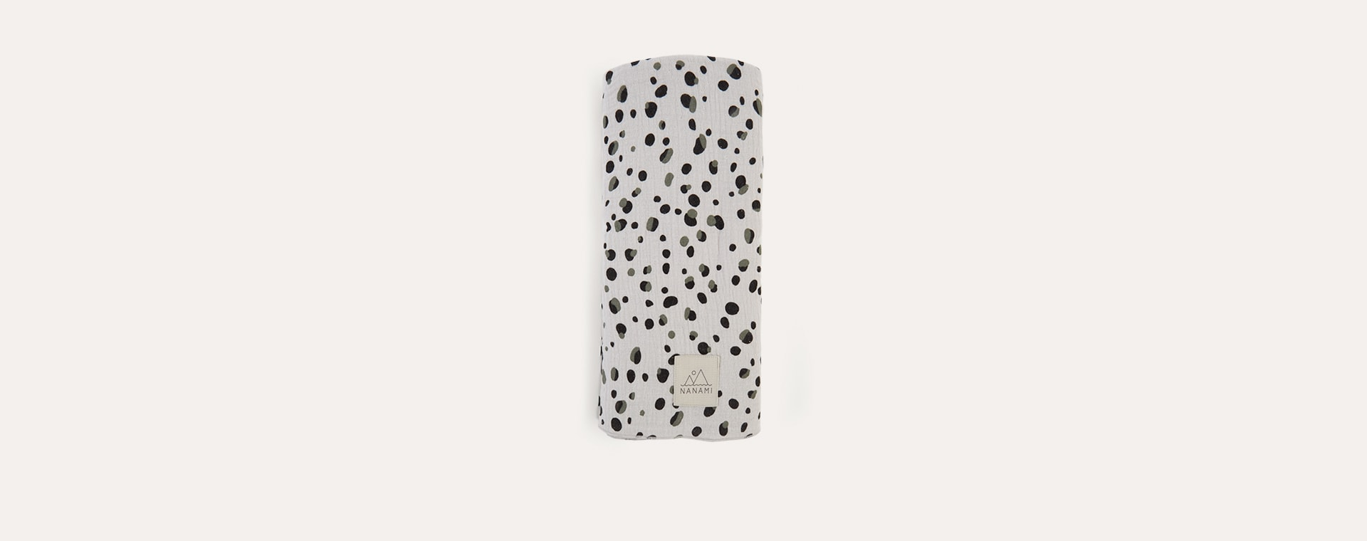 Stone Nanami Pebble Print Swaddle Blanket