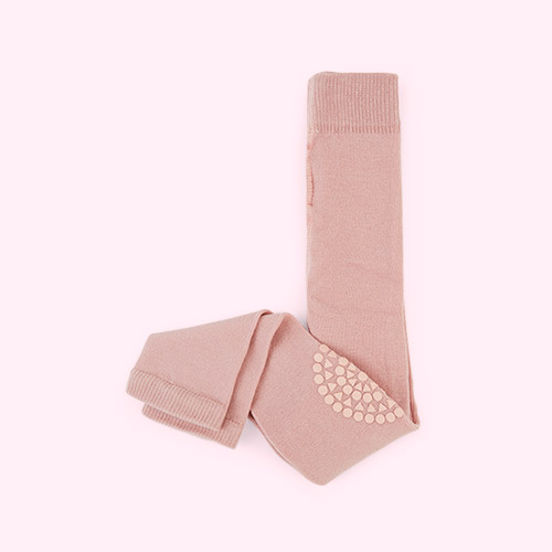 Light Pink Go Baby Go Crawling Leggings