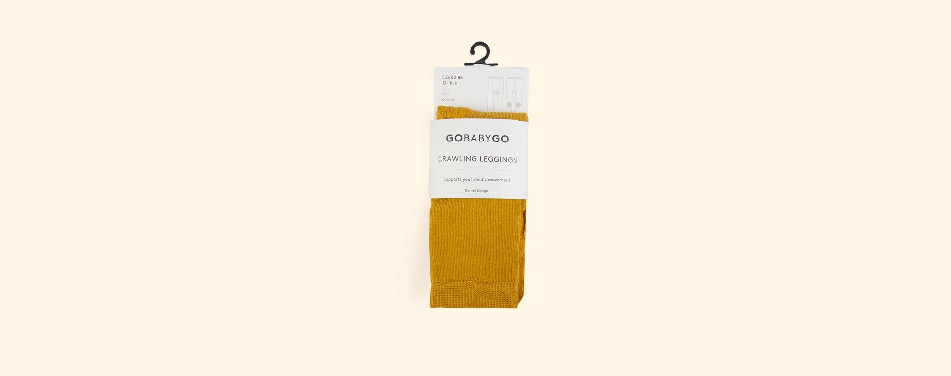 Mustard GoBabyGo Crawling Leggings