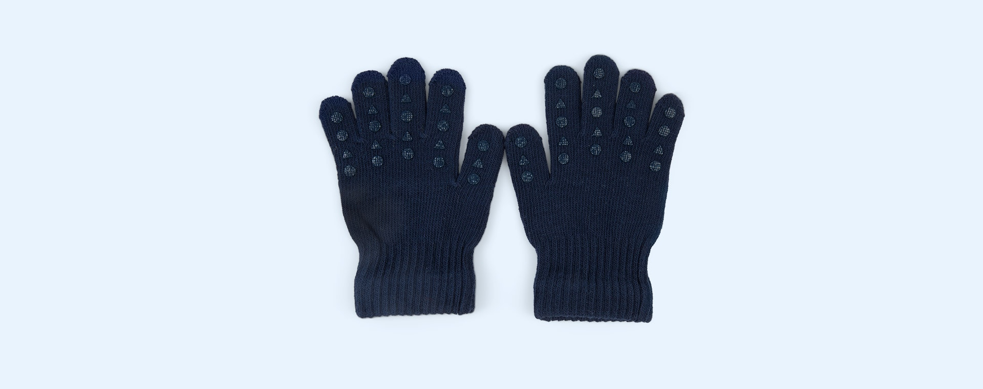 Navy Go Baby Go Grip Gloves