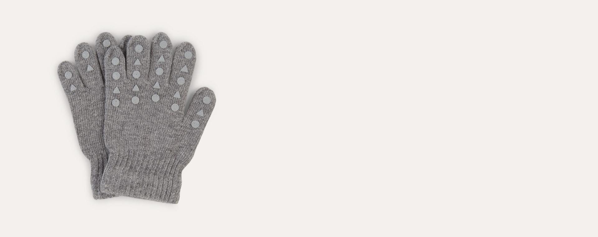 Light Grey Go Baby Go Grip Gloves