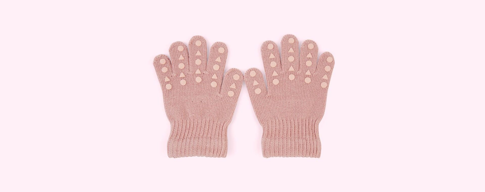 Light Pink Go Baby Go Grip Gloves