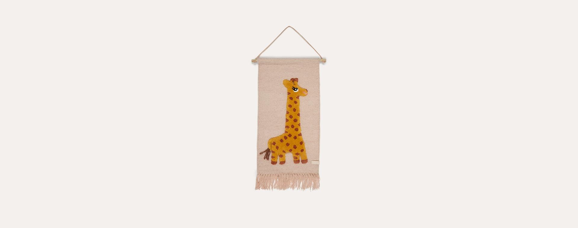 Giraffe OYOY Wall Hanger