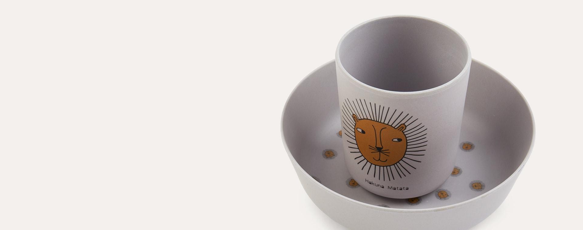 Lion OYOY Tableware Set