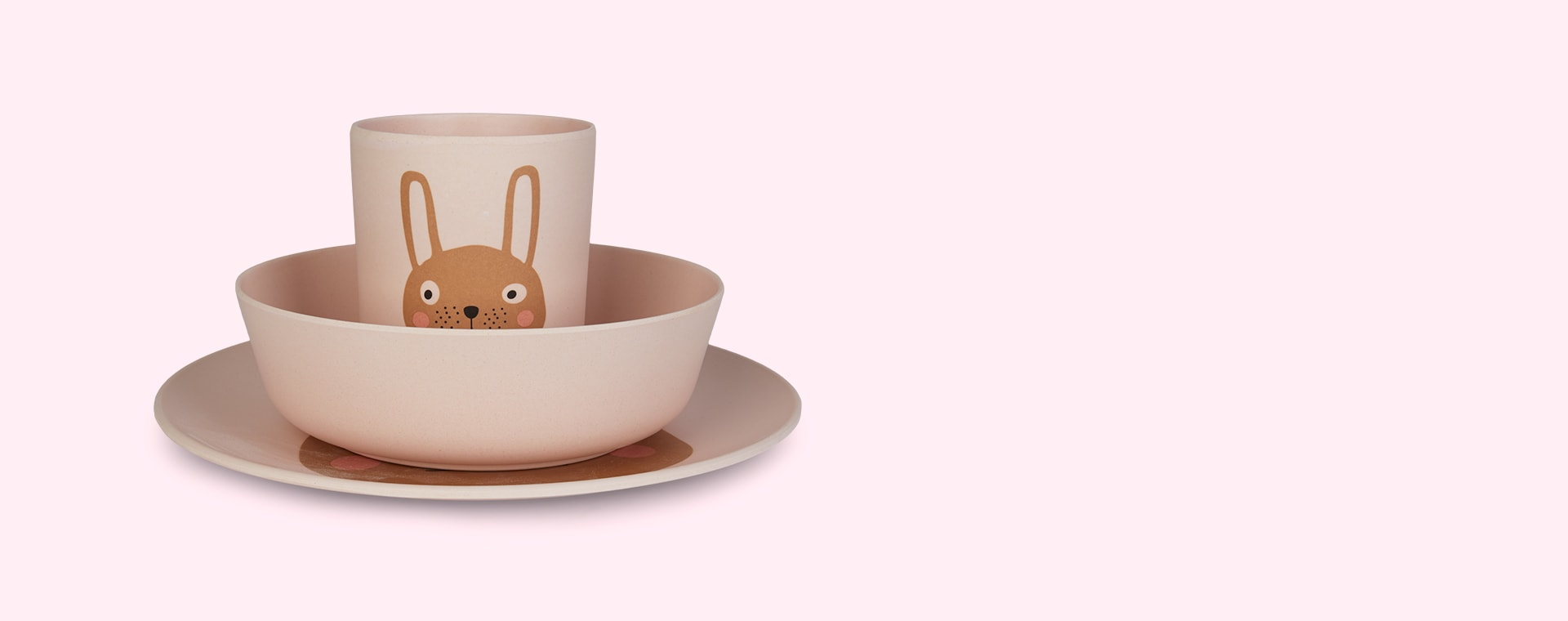 Bunny OYOY Tableware Set