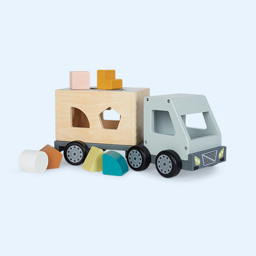 Multi Kid's Concept Sorter Box Truck
