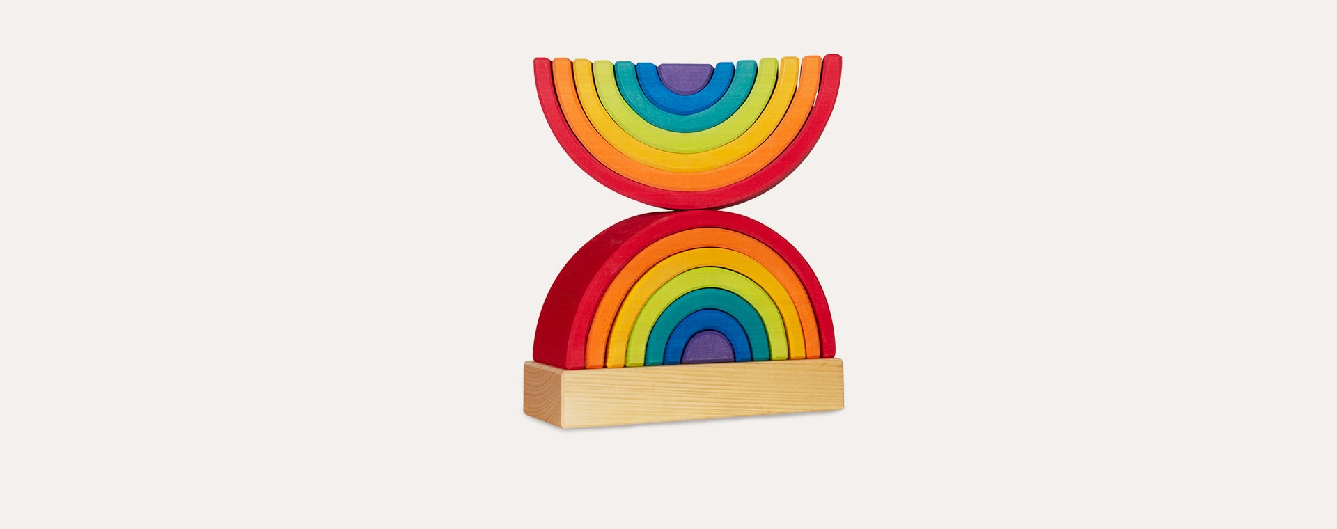 Multi Grimm's Rainbow Stacking Tower