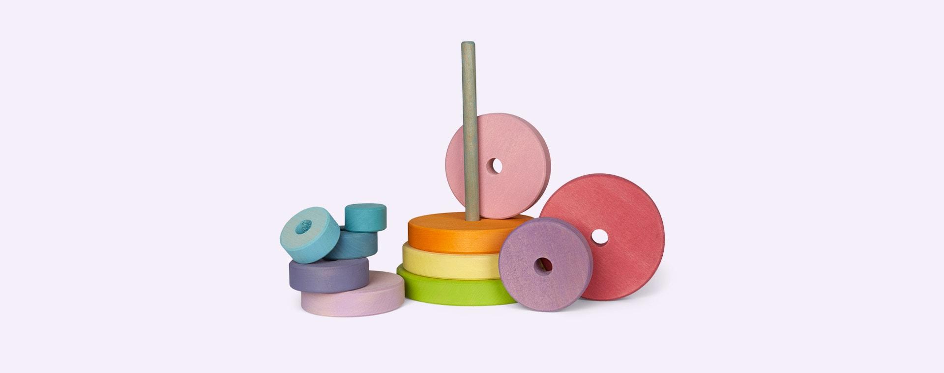 Multi Grimm's Pastel Stacking Toy