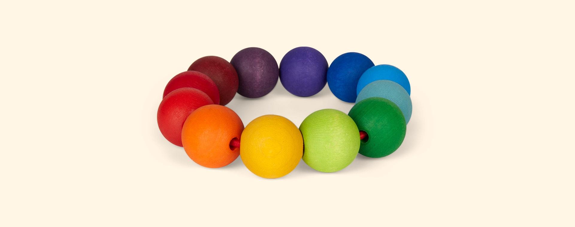 Multi Grimm's Rainbow Teething Ring