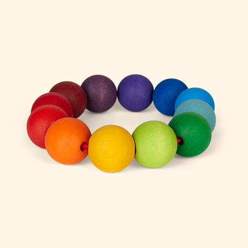 Multi Grimm's Rainbow Teething Ring
