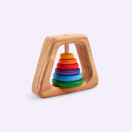 Multi Grimm's Pyramid Rattle