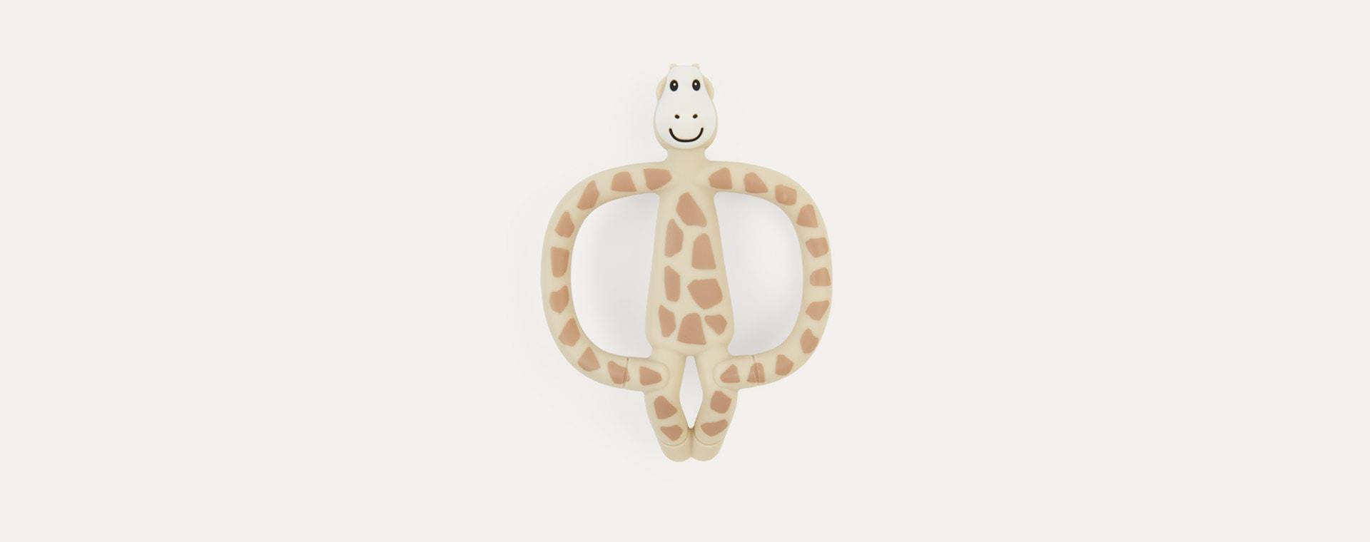 Giraffe Matchstick Monkey Animal Teether