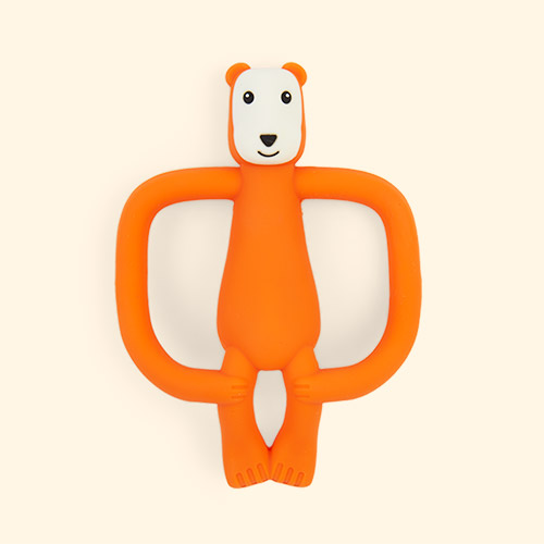 Bear Matchstick Monkey Animal Teether