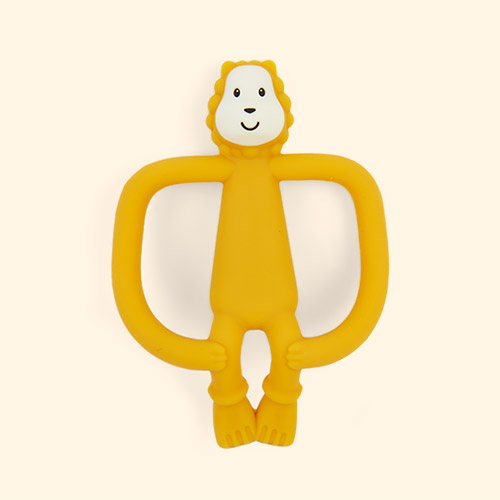 Lion Matchstick Monkey Animal Teether