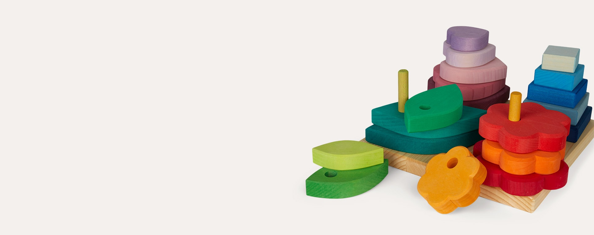Multi Grimm's Shape Stacking Game