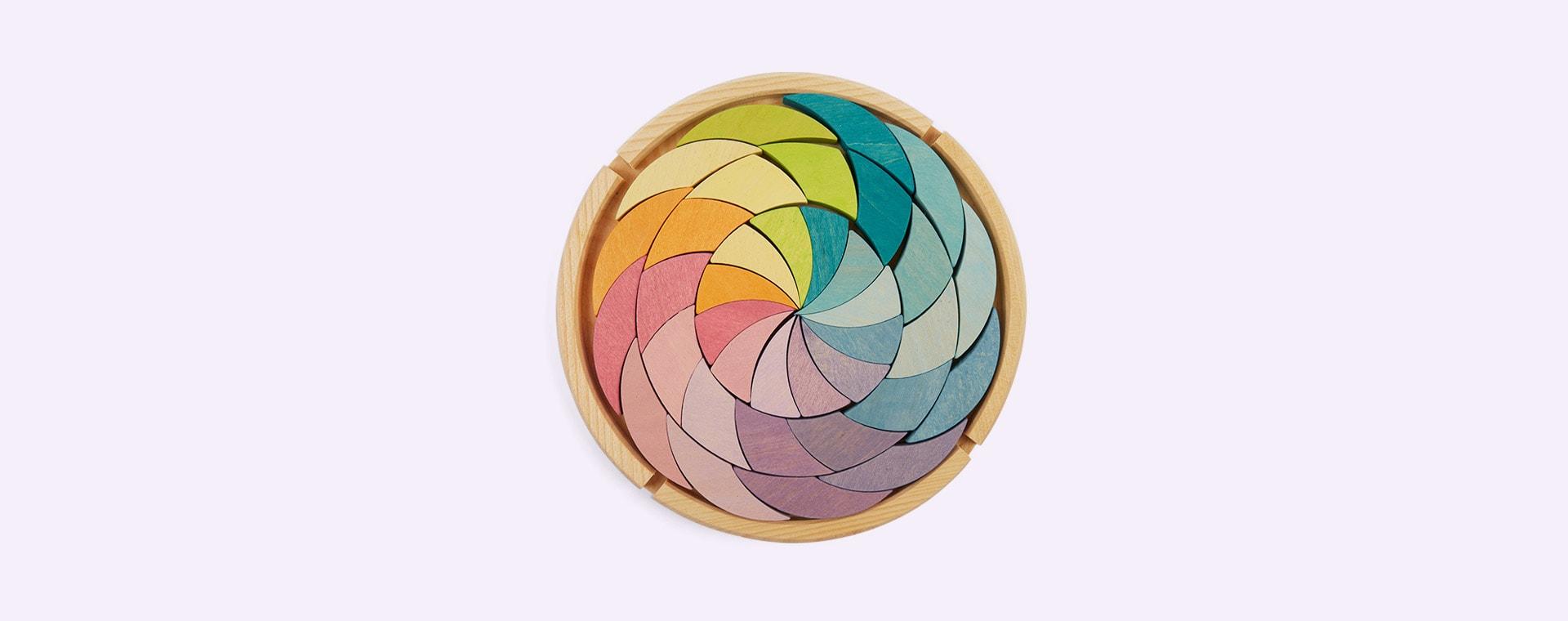 Pastel Grimm's Building Set Colour Wheel