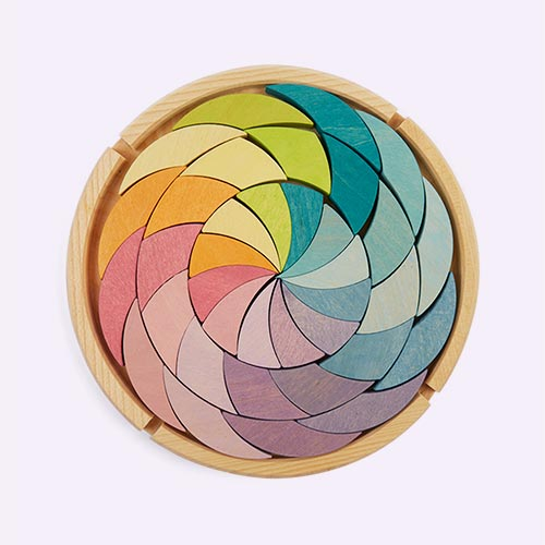 Pastel Grimm's Building Set Colour Wheel