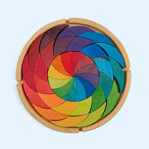 Rainbow Grimm's Building Set Colour Wheel