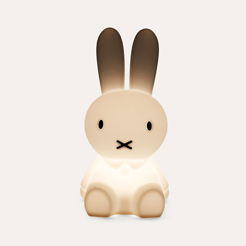 White Mr Maria Miffy First Light Lamp