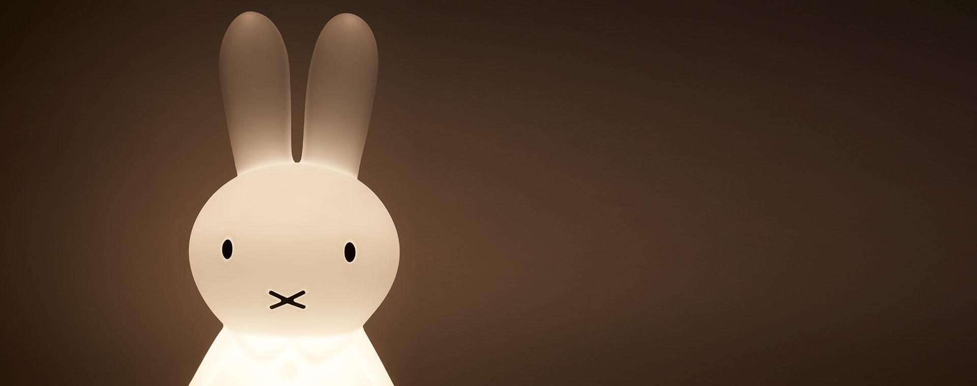 White Mr Maria Miffy Star Light