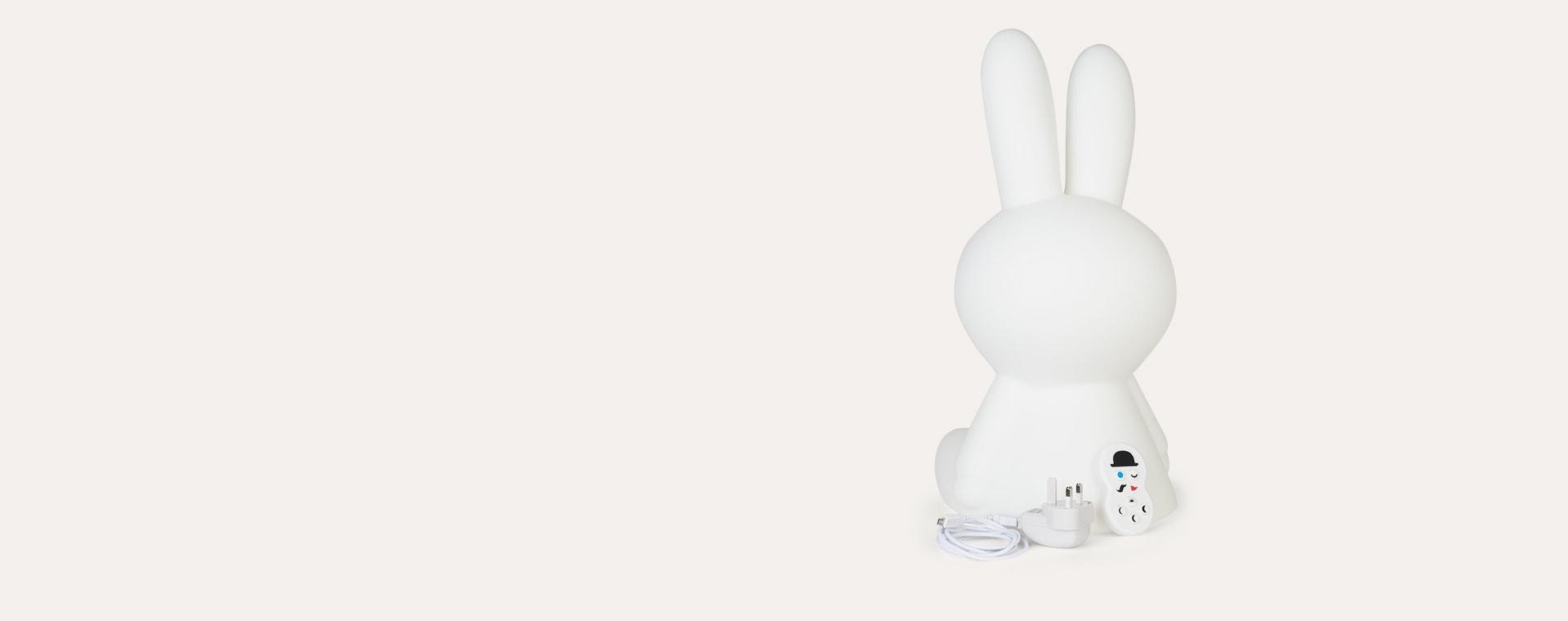 White Mr Maria Miffy Original Lamp