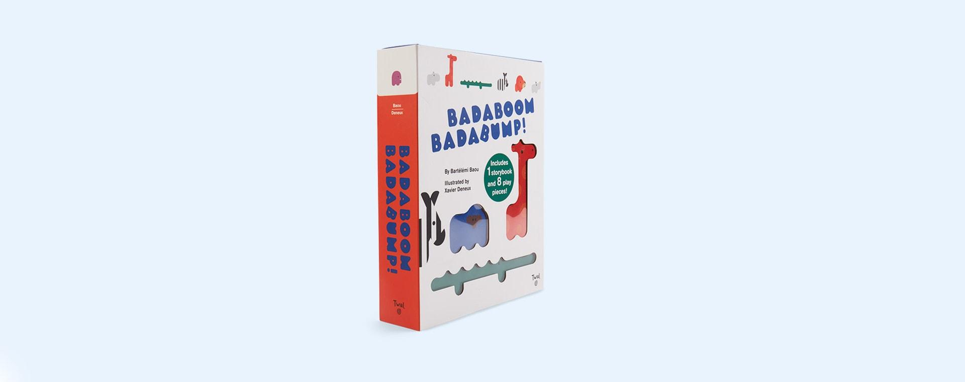 White Abrams & Chronicle Books Badaboom Badabump!